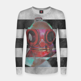 Thumbnail image of Old school helmet  Woman cotton sweater, Live Heroes