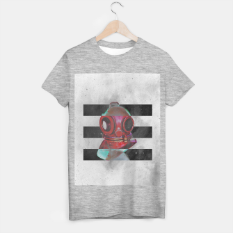 Thumbnail image of Old school helmet  T-shirt regular, Live Heroes