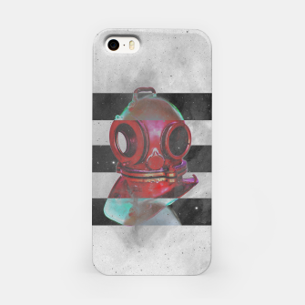 Thumbnail image of Old school helmet  iPhone Case, Live Heroes