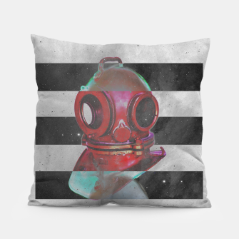 Thumbnail image of Old school helmet  Pillow, Live Heroes