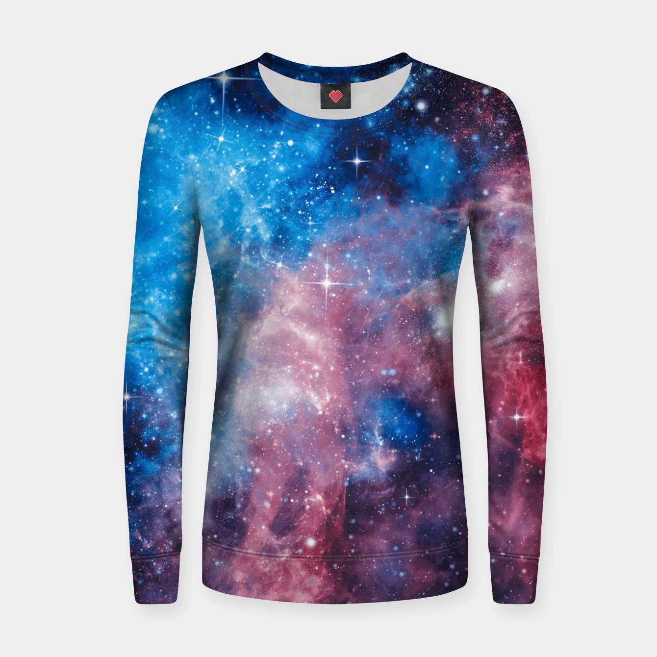 Image of All The Space I Need Woman cotton sweater - Live Heroes