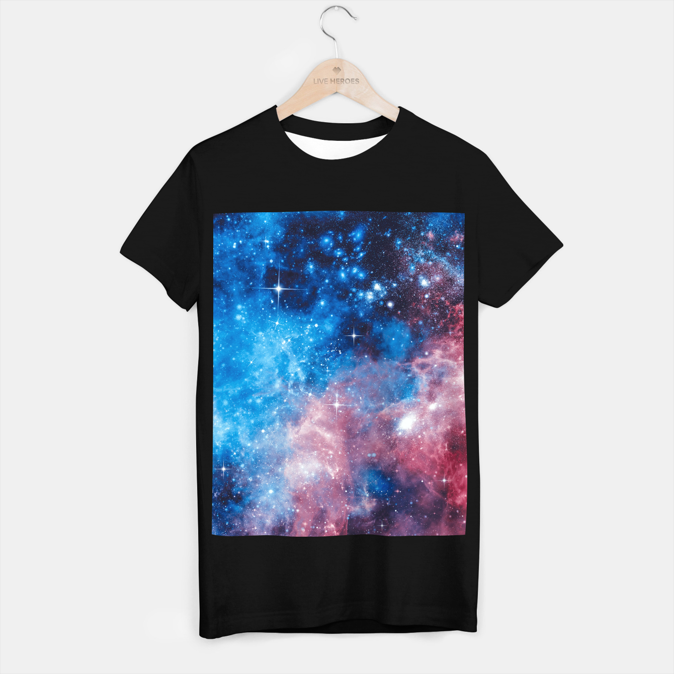 Image of All The Space I Need T-shirt regular - Live Heroes