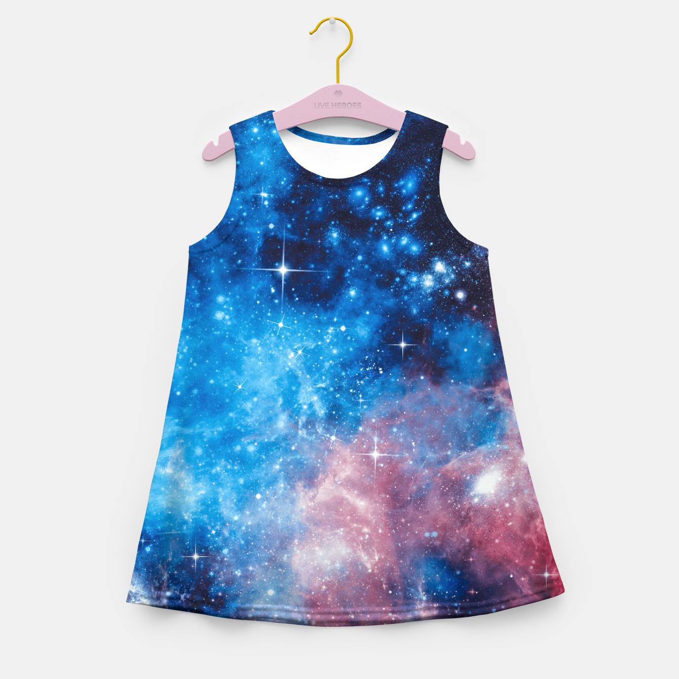Image of All The Space I Need Girl's summer dress - Live Heroes