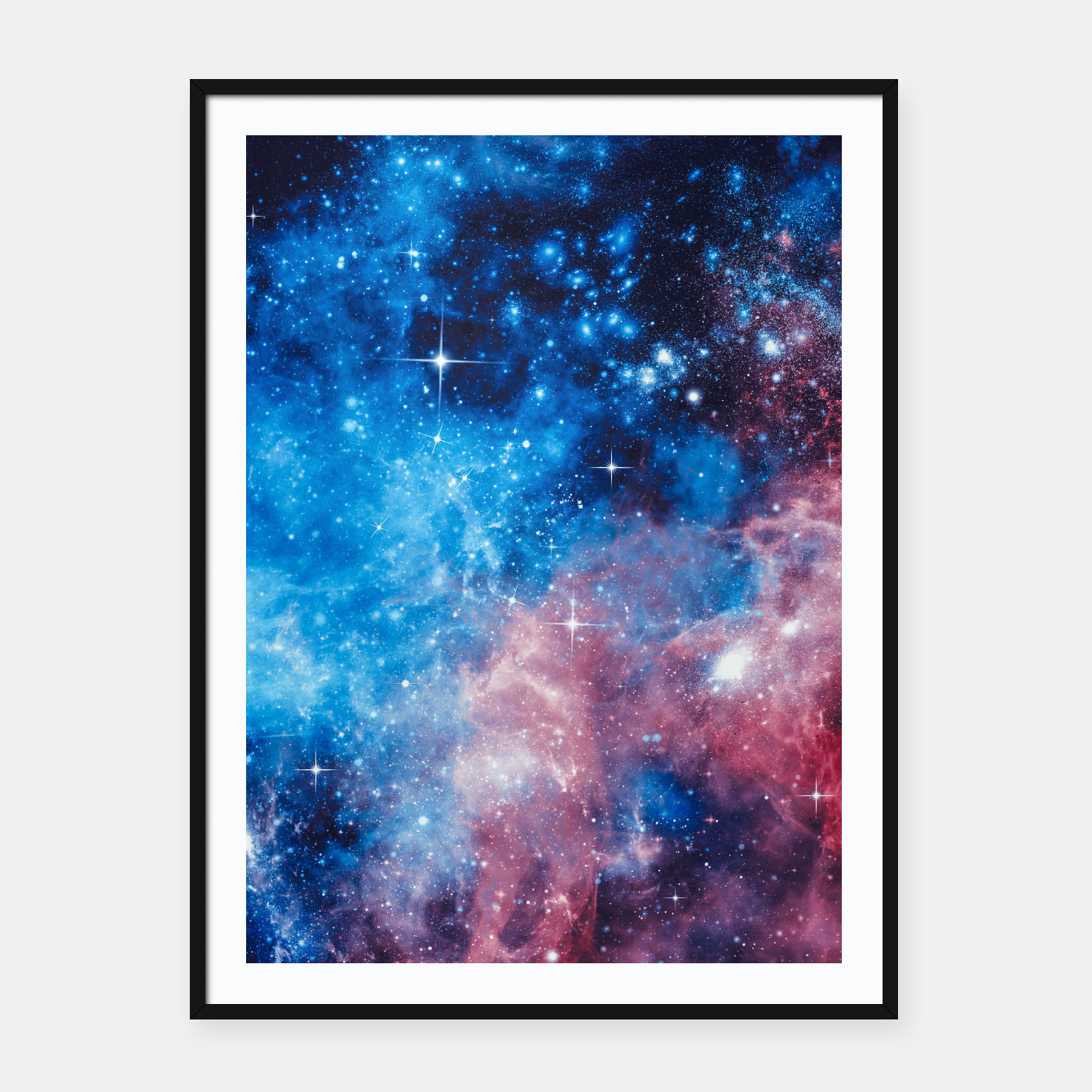 Image of All The Space I Need Framed poster - Live Heroes
