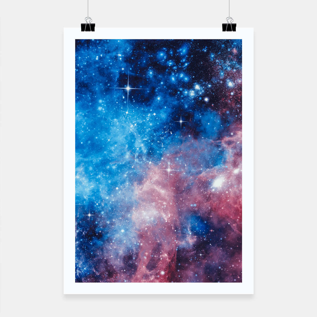 Image of All The Space I Need Poster - Live Heroes