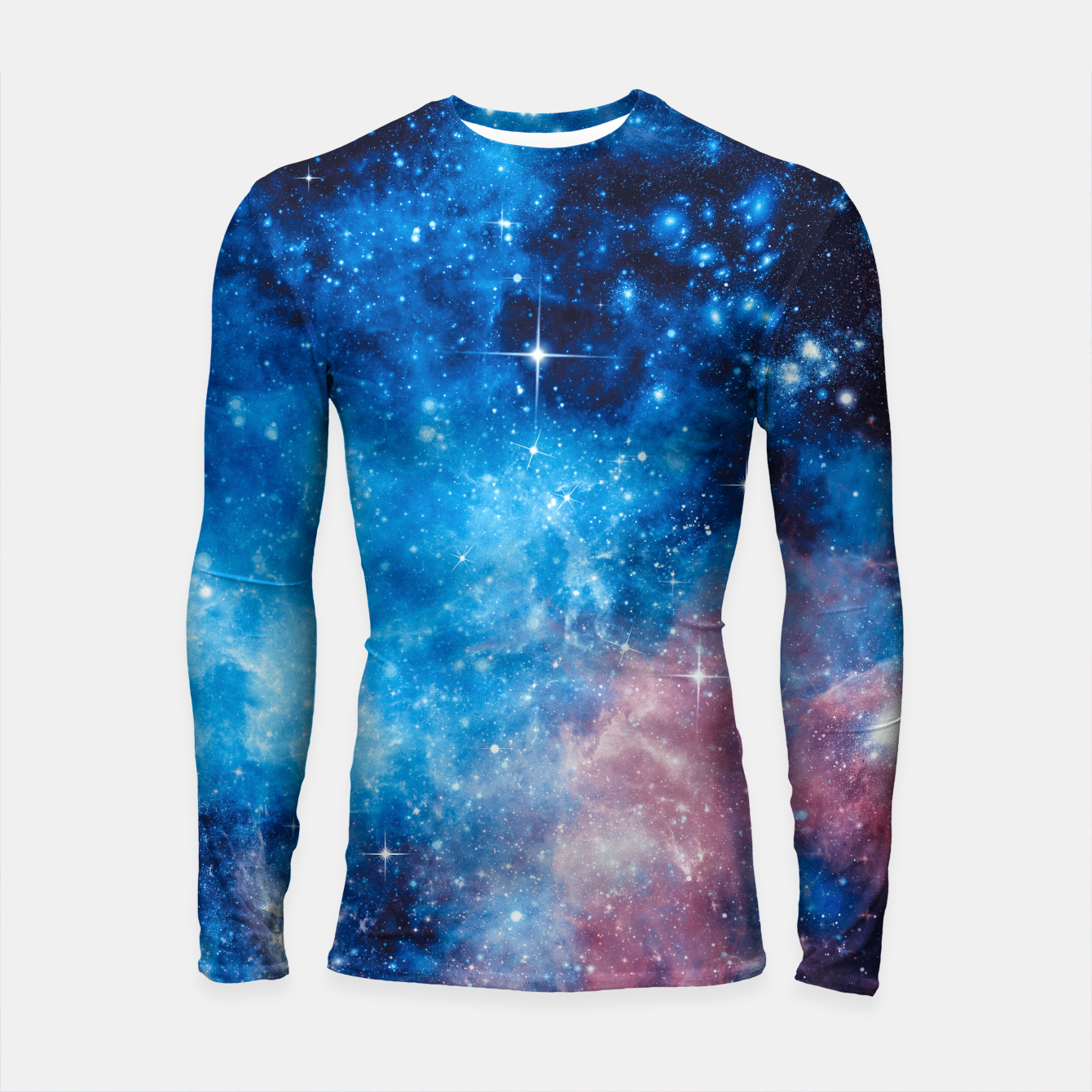 Image of All The Space I Need Longsleeve rashguard  - Live Heroes