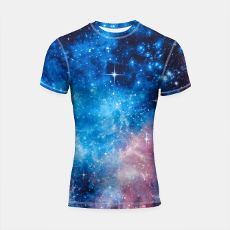 Thumbnail image of All The Space I Need Shortsleeve rashguard, Live Heroes