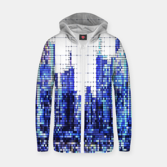 Thumbnail image of NEW YORK Cotton zip up hoodie, Live Heroes