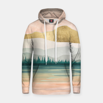 Spring Forest Lake Cotton hoodie miniature