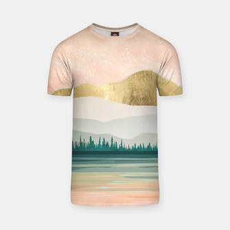 Spring Forest Lake T-shirt miniature