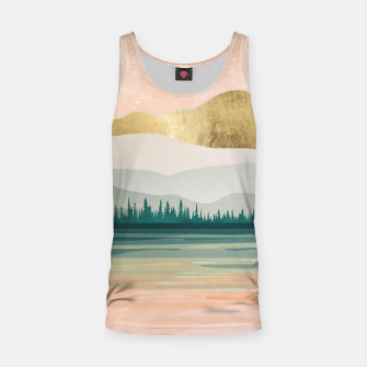 Spring Forest Lake Tank Top miniature