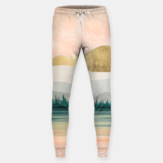 Spring Forest Lake Cotton sweatpants miniature