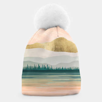 Spring Forest Lake Beanie miniature