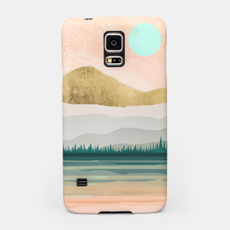 Spring Forest Lake Samsung Case miniature
