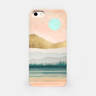 Miniature de image de Spring Forest Lake iPhone Case, Live Heroes