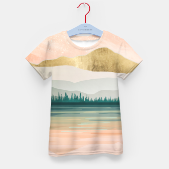 Spring Forest Lake Kid's t-shirt miniature
