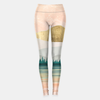 Spring Forest Lake Leggings miniature
