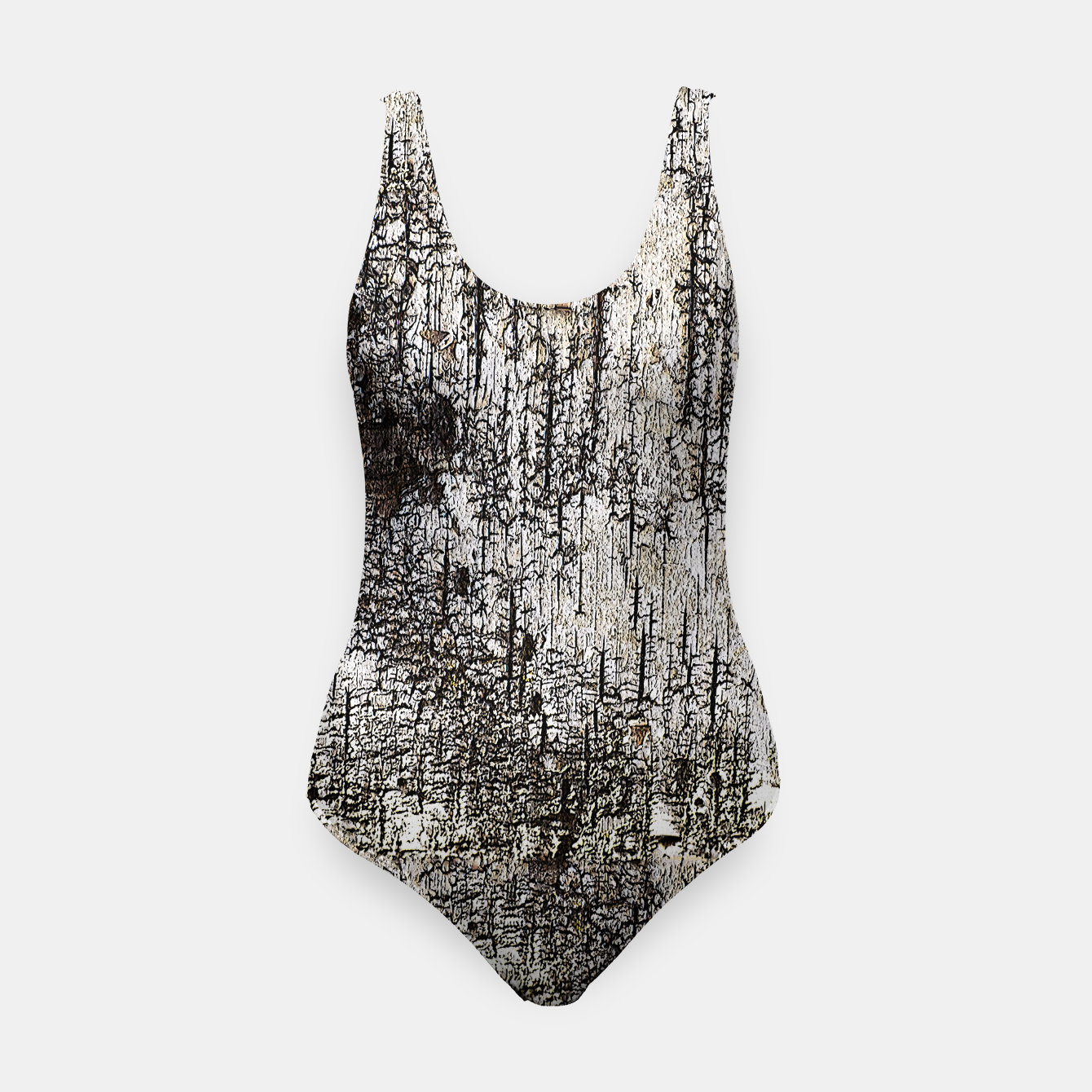 aeeaf8b361b Image of Distressed White Birch Tree Graphic Print Swimsuit - Live Heroes