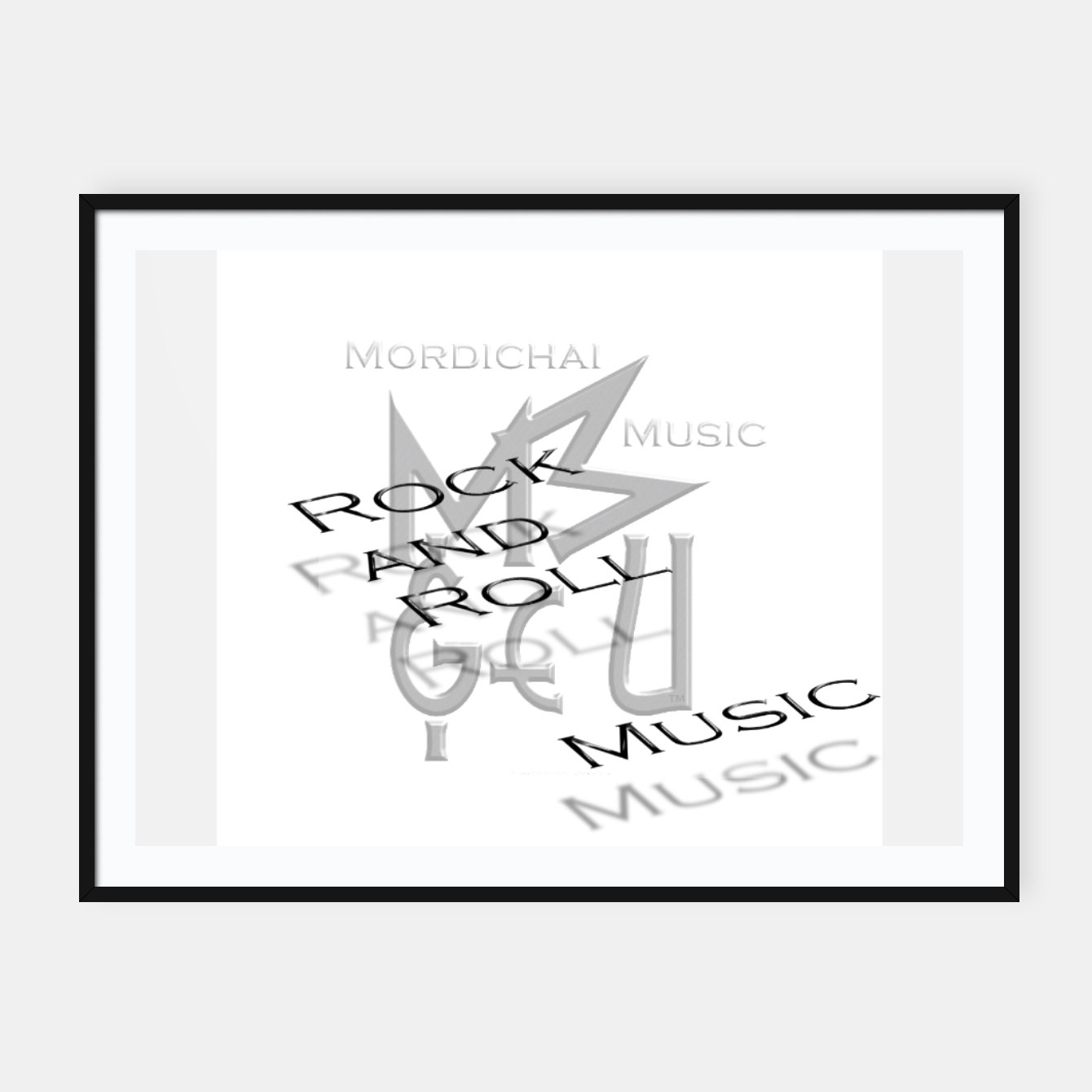 Image of Rock and Roll Music (poster) - Live Heroes