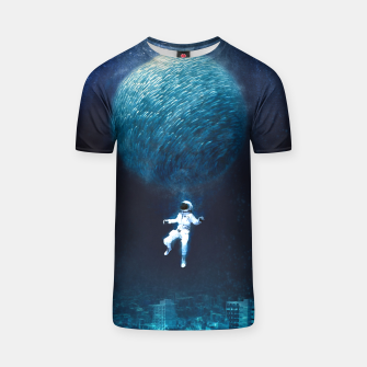 Thumbnail image of Astronautic T-shirt, Live Heroes