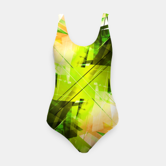 Thumbnail image of Toxic - Geometric Abstract Art Swimsuit, Live Heroes