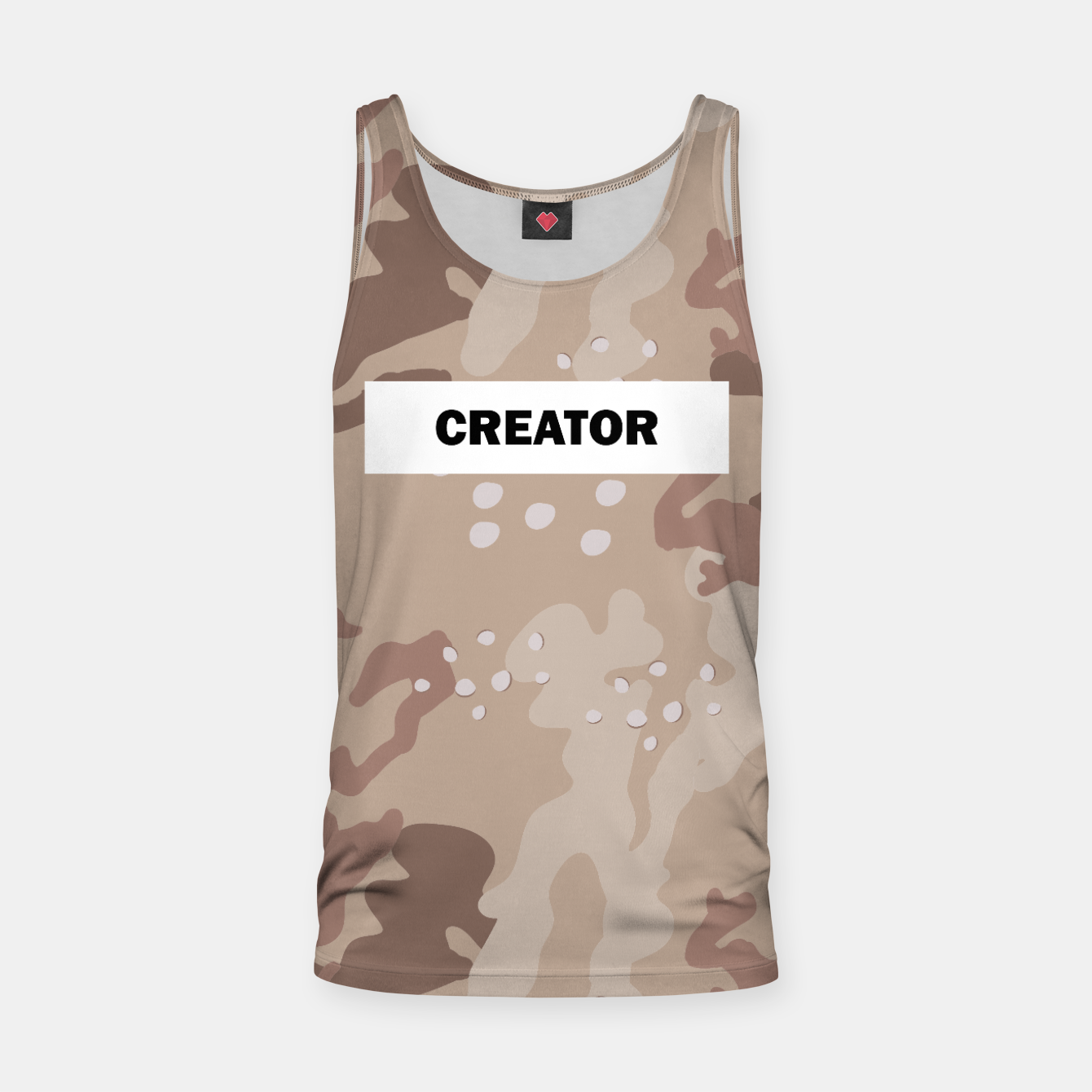 Image of Camo tank top - Live Heroes