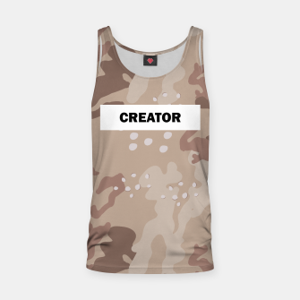 Thumbnail image of Camo tank top, Live Heroes