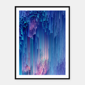 Miniaturka Fairy Glitches - Abstract Pixel Art Framed poster, Live Heroes