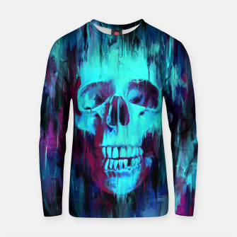 Thumbnail image of Calavera Painted Cotton sweater, Live Heroes
