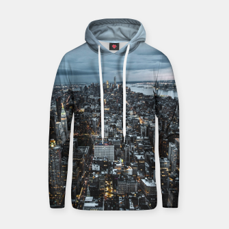 Thumbnail image of Big City Lights Cotton hoodie, Live Heroes