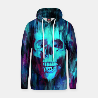 Thumbnail image of Calavera Painted Cotton hoodie, Live Heroes