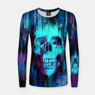 Thumbnail image of Calavera Painted Woman cotton sweater, Live Heroes