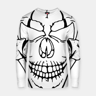 Thumbnail image of Clown skull Cotton sweater, Live Heroes