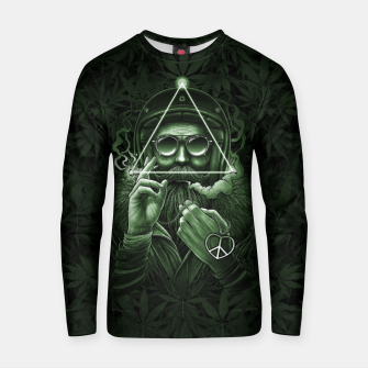 Thumbnail image of Winya No. 138 Weed Cotton sweater, Live Heroes