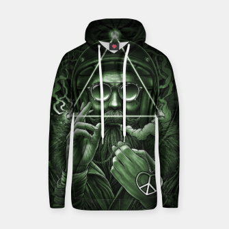 Thumbnail image of Winya No. 138 Weed Cotton hoodie, Live Heroes