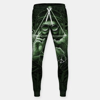 Miniature de image de Winya No. 138 Weed Cotton sweatpants, Live Heroes