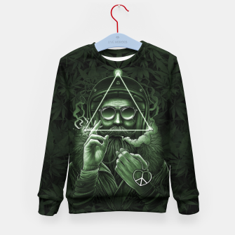 Thumbnail image of Winya No. 138 Weed Kid's sweater, Live Heroes