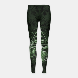 Thumbnail image of Winya No. 138 Weed Girl's leggings, Live Heroes