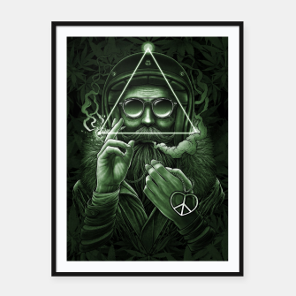 Thumbnail image of Winya No. 138 Weed Framed poster, Live Heroes