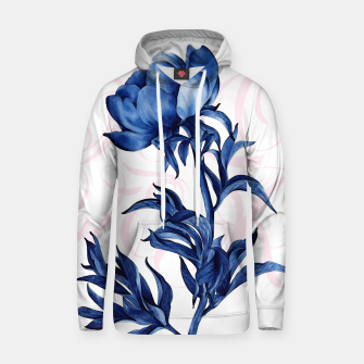 Miniature de image de blue rose Cotton hoodie, Live Heroes