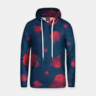 Red Roses Cotton hoodie thumbnail image