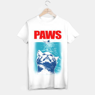 Thumbnail image of PAWS T-shirt regular, Live Heroes