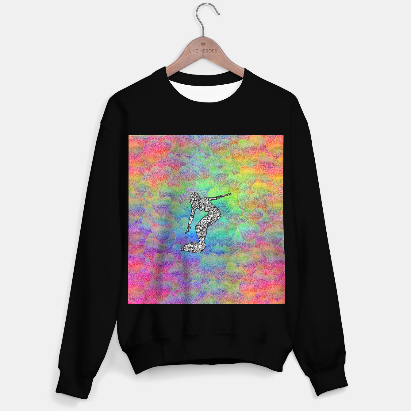 Image of Surf Sweater regular - Live Heroes