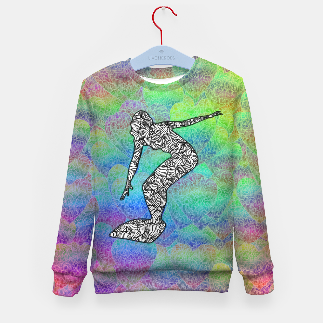Image of Surf Kid's sweater - Live Heroes