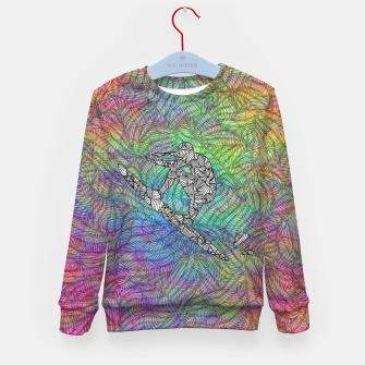 Thumbnail image of Surf Kid's sweater, Live Heroes