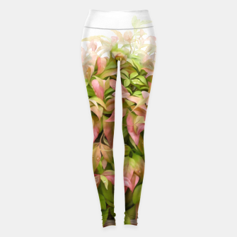 Miniaturka Dew on Leaves  Leggings, Live Heroes