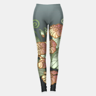 Thumbnail image of Art Nouveau Garden Leggings, Live Heroes