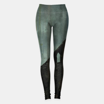 Miniaturka Celtic ruin - halloween  Leggings, Live Heroes