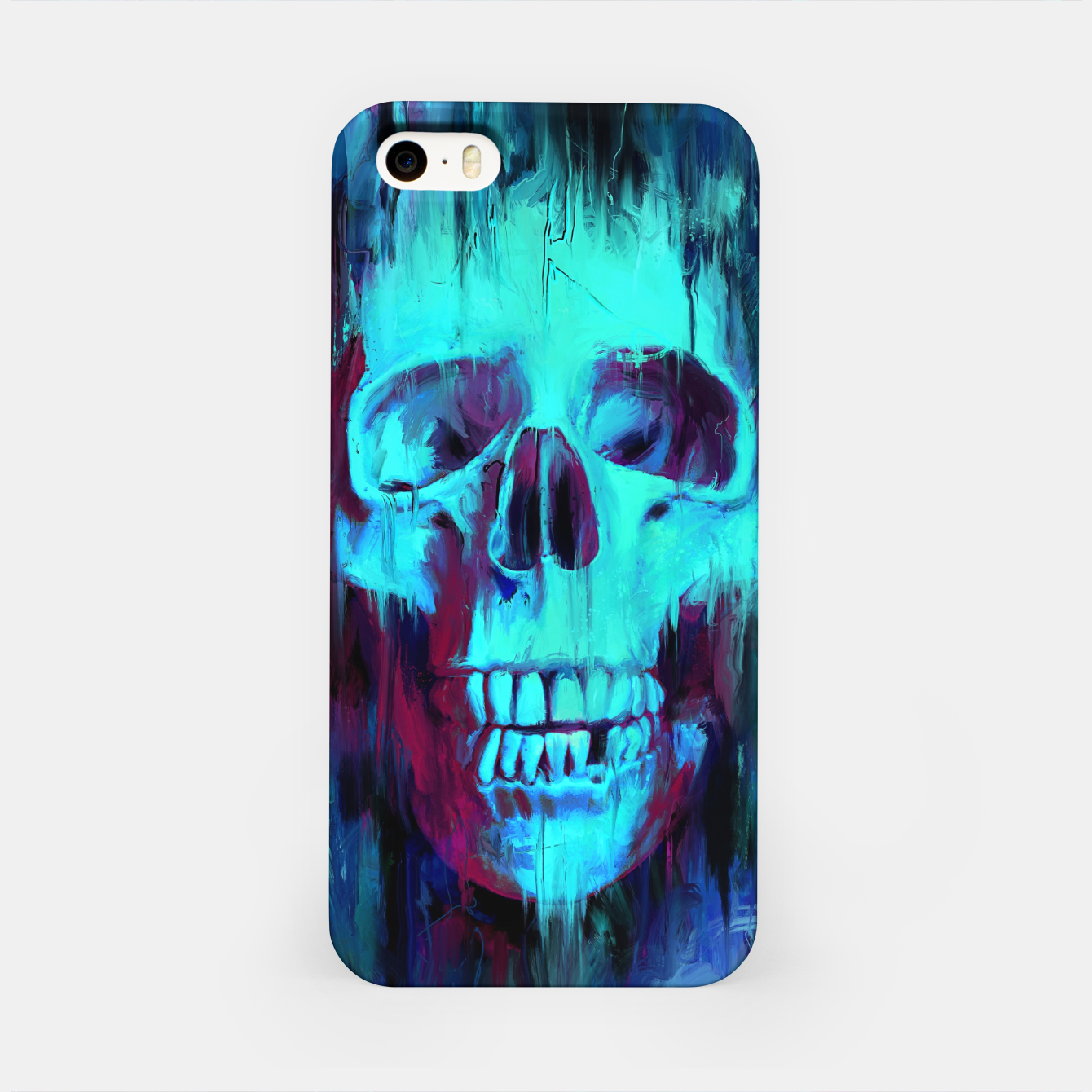 Foto Calavera Painted iPhone Case - Live Heroes