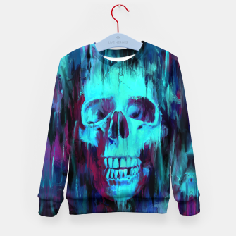Thumbnail image of Calavera Painted Kid's sweater, Live Heroes